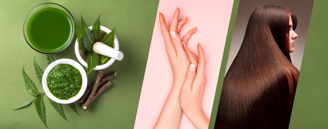 Neem: Purifies Skin | Detoxifies Hair